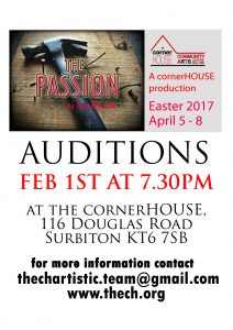 Audition Poster The Passion 2 (A5 size)