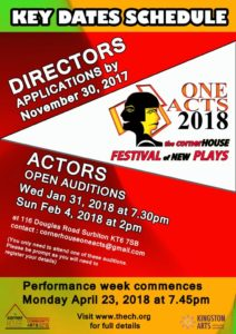 oneACTS 2018 - Actors page