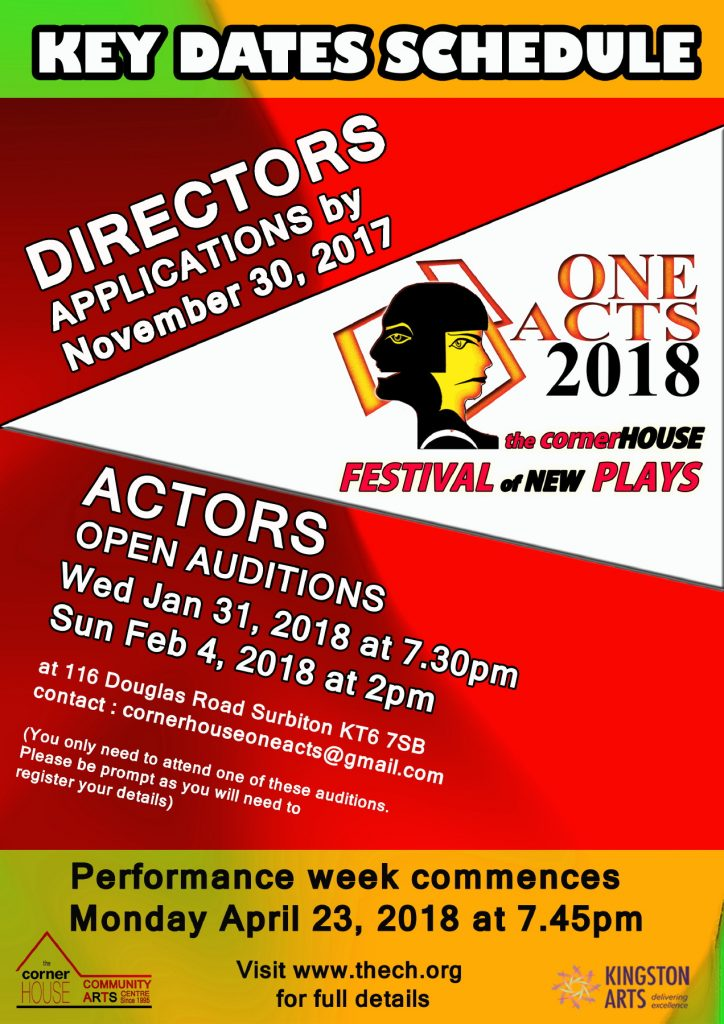 oneACTS 2018 - Directors Page