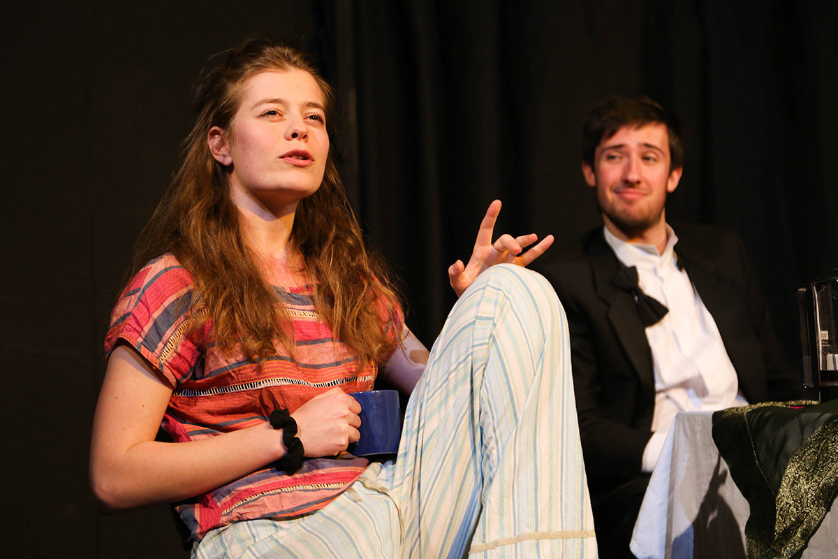 Francesca Cartier and David Bourne in Naked Truths