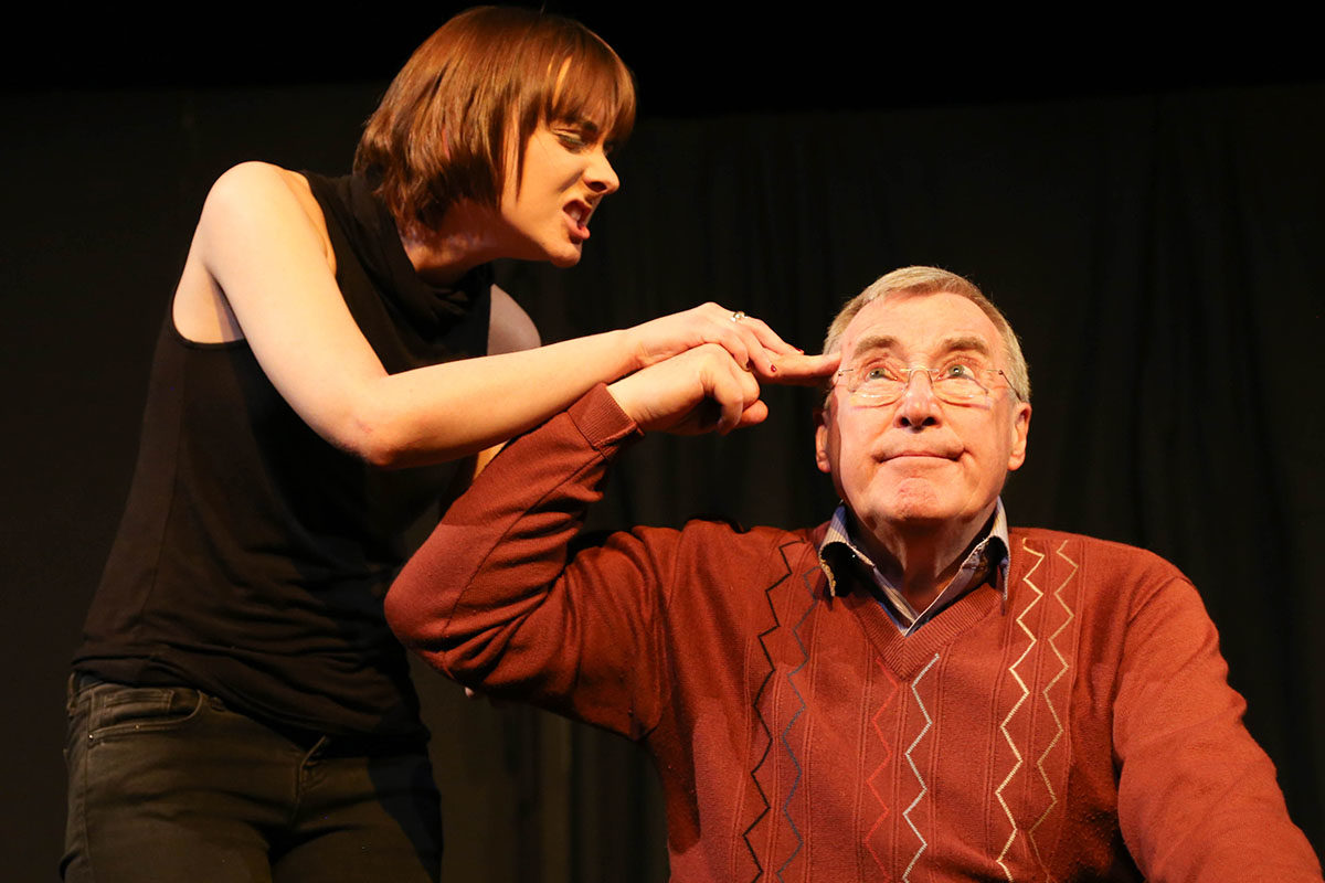 Ruth Fogg and Tony Milburn in A Start
