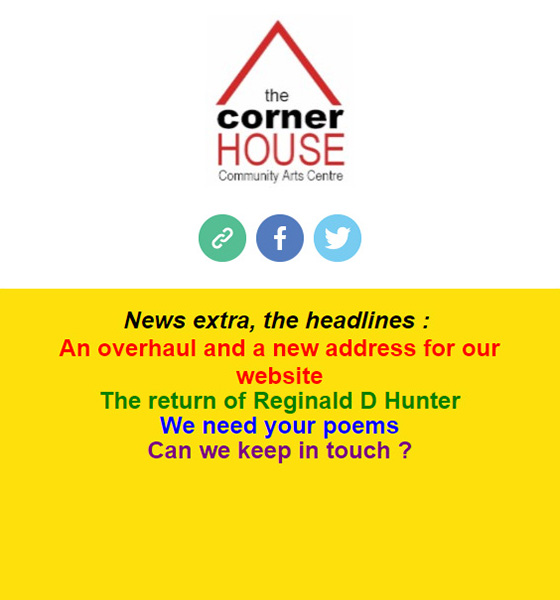 cornerHOUSE news extra!