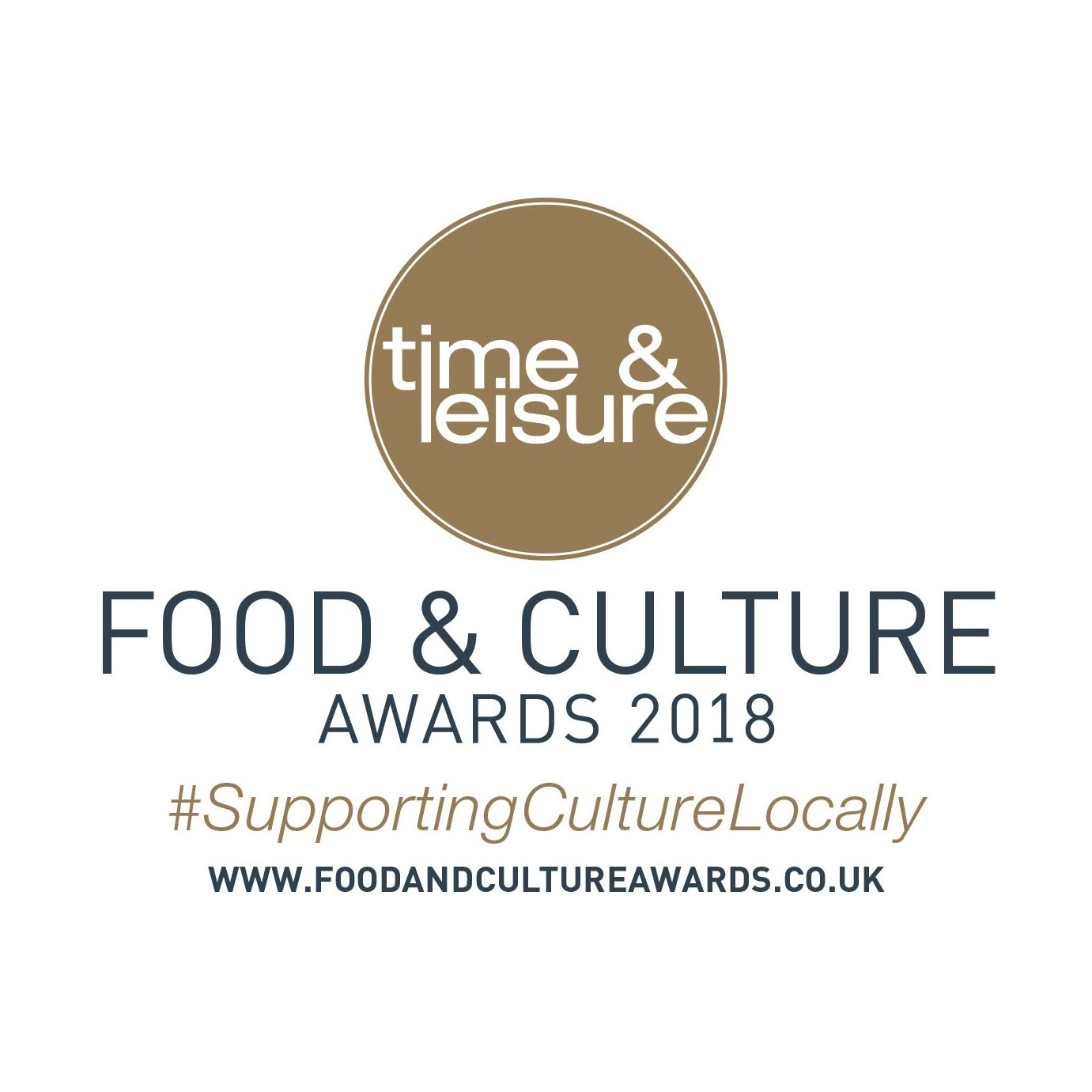 Time & Leisure Food and Culture Awards 2018