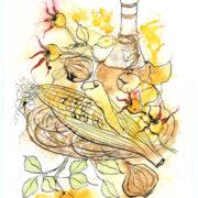 Corn and Chianti